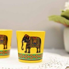 Elephant Majesty candle votives
