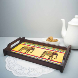 Elephant Majesty Wooden TRAY
