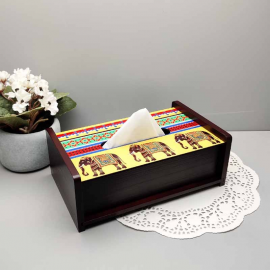 Elephant Majesty TISSUE BOX
