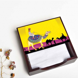 Camel Glory Napkin Box