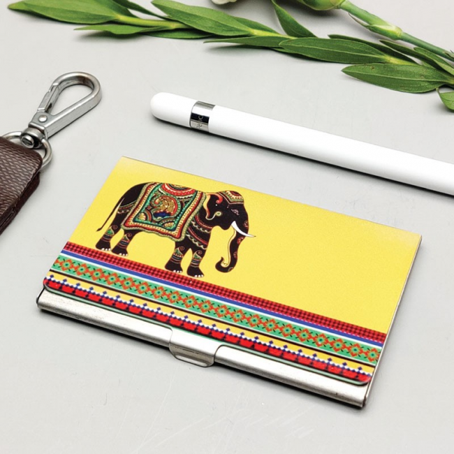 Elephant Majesty CARDHOLDER