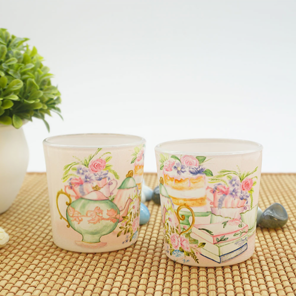Elated English Garden Parties candle votives