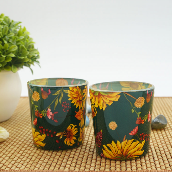 Sanguine Sunflowers Candle Votives