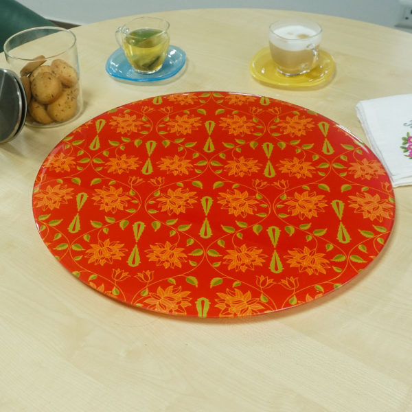 "Babur Charbagh Inspired ""LAZY SUSAN"" Turn Table"